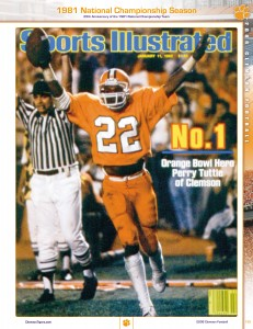 Perry Tuttle on cover of Sports Illustrated.